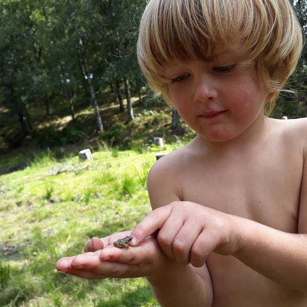 Eco turismo regenerativo ensino de natureza crianças