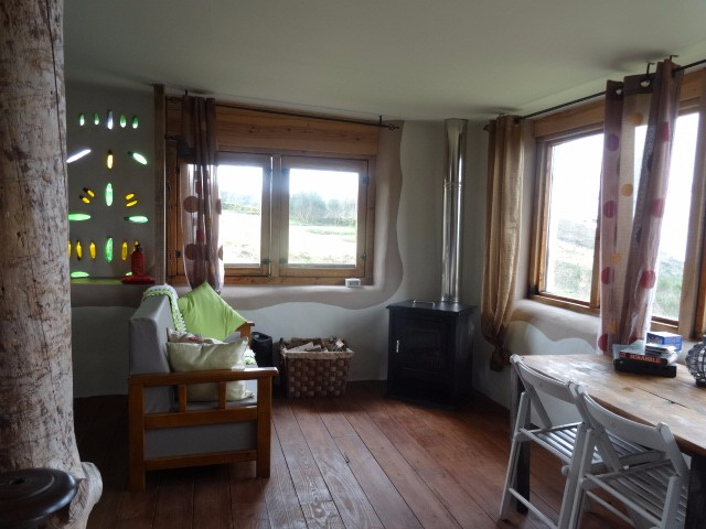 Turismo rural de natureza numa cabana sustentavel