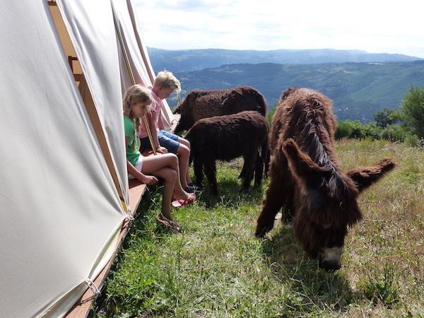 Natura Glamping rural férias em família