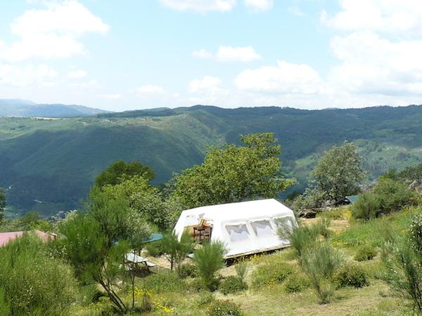 Glamping Norte tendas safaris na Serra da Cabreira